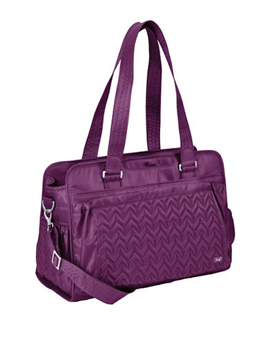 Lug Caboose Carry All Baby Bag-PLUM PURPLE-One Size
