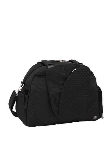 Lug Cartwheel Bag-BLACK-One Size