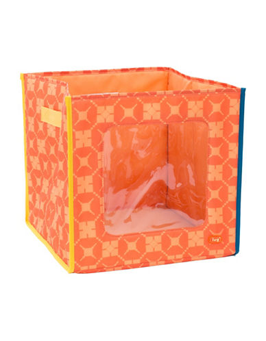 Lug Hide N Seek Printed Storage Cube-ORANGE-One Size