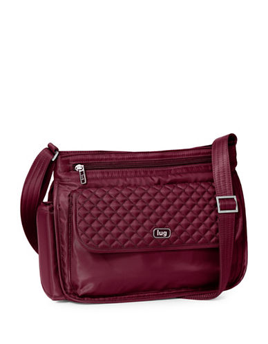 Lug Swivel Crossbody Bag-MEDIUM RED-One Size