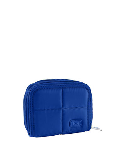 Lug Splits Compact Wallet-BLUE-One Size