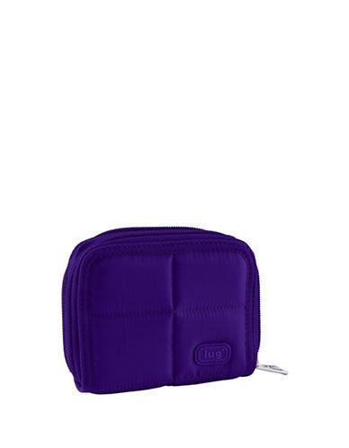 Lug Splits Compact Wallet-DARK PURPLE-One Size