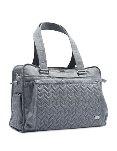 Lug Caboose Carry All Bag-HEATHER BLACK-One Size
