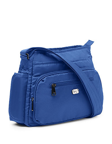 Lug Shimmy Cross-Body Bag-BLUE-One Size