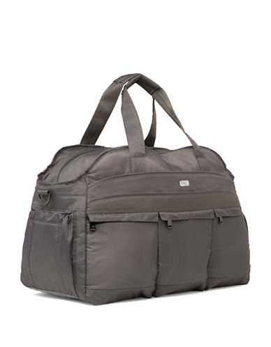 Lug Airbus Weekender Bag-BROWN-One Size