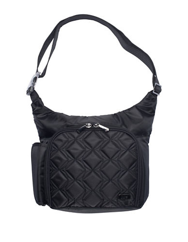 Lug Sidecar Cross-body Bag-BLACK-One Size