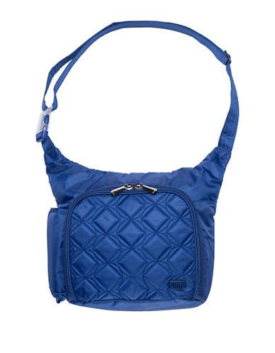 Lug Sidecar Cross-body Bag-BLUE-One Size