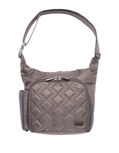 Lug Sidecar Cross-body Bag-BROWN-One Size