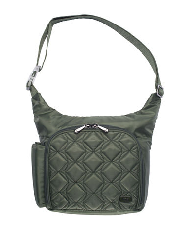 Lug Sidecar Cross-body Bag-OLIVE-One Size