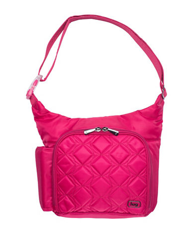 Lug Sidecar Cross-body Bag-PINK-One Size