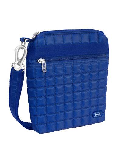 Lug Skipper Shoulder Pouch-BLUE-One Size
