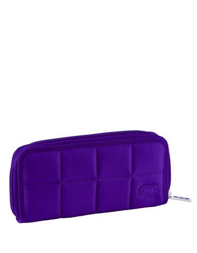 Lug Shuffle Wallet-DARK PURPLE-One Size