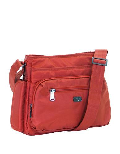 Lug Shimmy Crossbody Bag-ORANGE-One Size