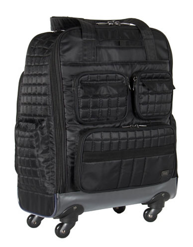 Lug Puddle Jumper Wheelie Bag-BLACK-One Size