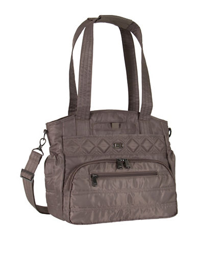 Lug Windjammer Everyday RFID Protection Tote-BROWN-One Size