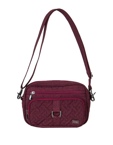 Lug Carousel RFID Protection Mini Crossbody Bag-PINK-One Size