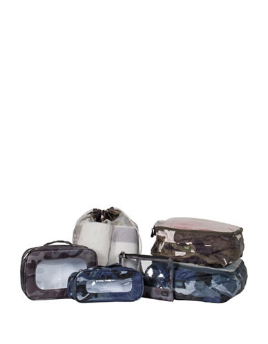 Lug Stowaway 6-Piece Packing Set-GREY/BLUE-One Size