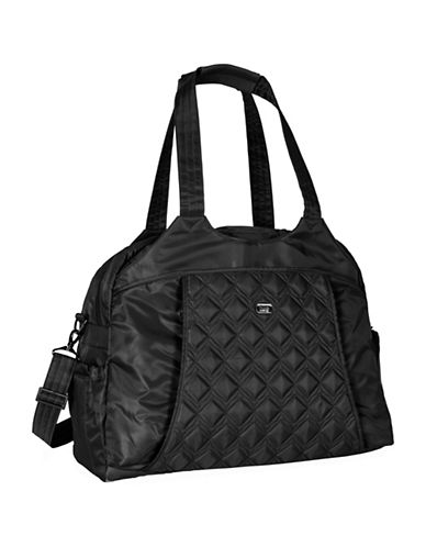 Lug Pontoon Weekender Bag-BLACK-One Size