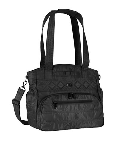 Lug Windjammer Everyday RFID Protection Tote-BLACK-One Size