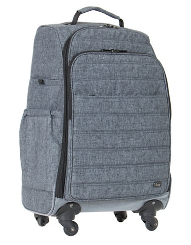 Lug Floral Cruiser Wheelie Bag-GREY-One Size