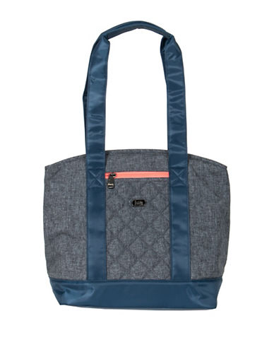 Lug Scooter Lunch Tote-GREY-One Size