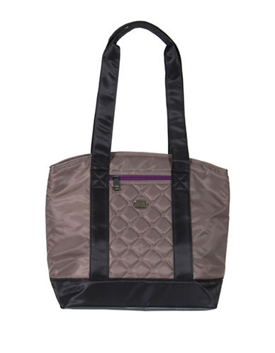 Lug Scooter Lunch Tote-BROWN-One Size