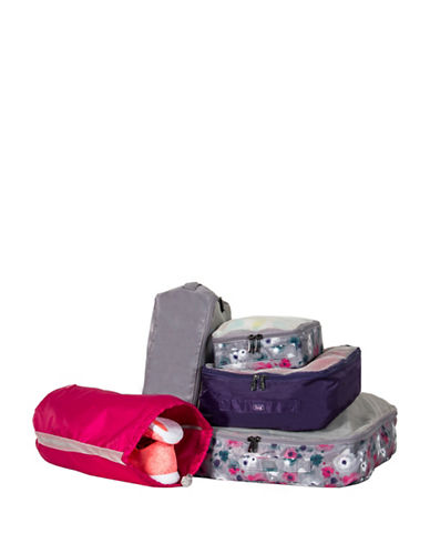 Lug Cargo Five-Piece Packing Kit-GREY-One Size
