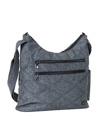 Lug Cable Car Satchel-GREY-One Size