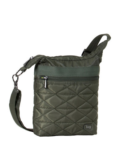 Lug Skipper Shoulder Pouch-GREEN-One Size
