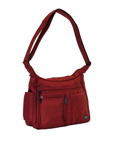 Lug Double Dutch Cross-Body Bag-RED-One Size