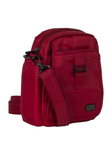 Lug Infinity Can Can Small Crossbody Bag-RED-One Size