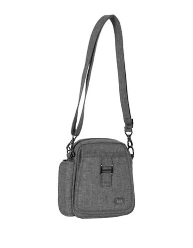 Lug Infinity Can Can Small Crossbody Bag-GREY-One Size
