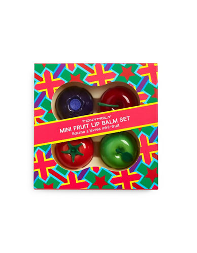Tony Moly Mini Fruit Lip Balm Set-NO COLOR-One Size