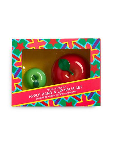 Tony Moly Apple Hand Cream and Lip Balm Set-NO COLOR-One Size