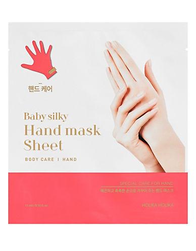 Holika Holika Baby Silky Hand Mask Sheet-BLUE-One Size