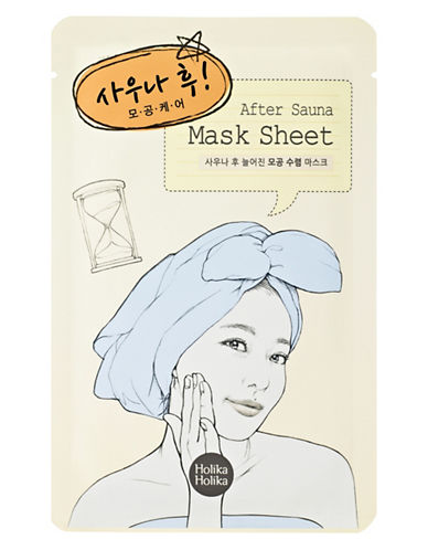 Holika Holika After Sauna Pore Care Mask Sheet-YELLOW-One Size
