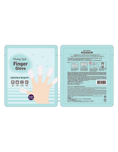 Holika Holika Healing Nails Finger Gloves-BLUE-One Size