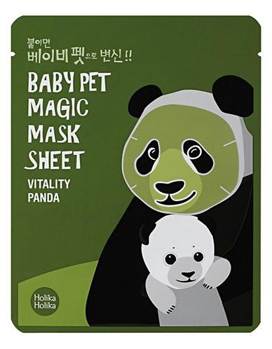 Holika Holika Baby Pet Mask Sheet Panda-GREEN-One Size