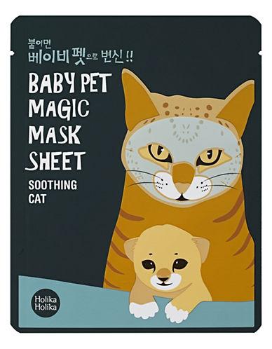 Holika Holika Baby Pet Mask Sheet Cat-GREEN-One Size