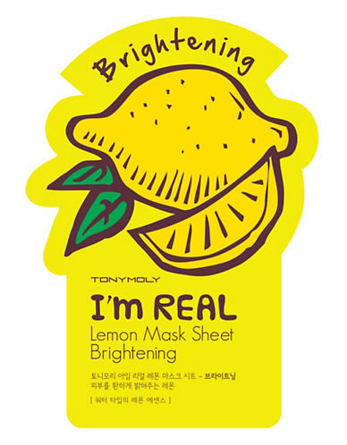 Tony Moly I am Real Lemon Brightening Mask Sheet-NO COLOUR-One Size