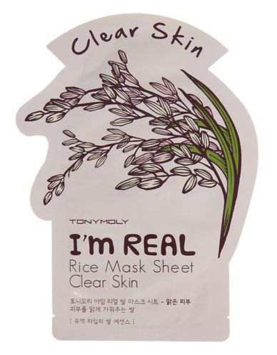 Tony Moly I am Real Rice Brightening Mask Sheet-NO COLOUR-One Size