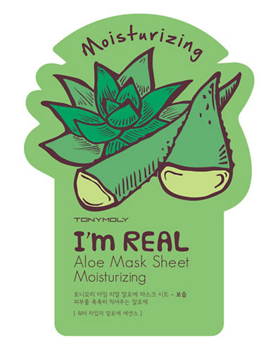 Tony Moly I am Real Aloe Moisturizing Mask Sheet-NO COLOUR-One Size