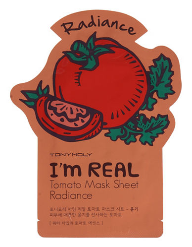 Tony Moly I am Real Tomato Skin Glow Mask Sheet-NO COLOUR-One Size