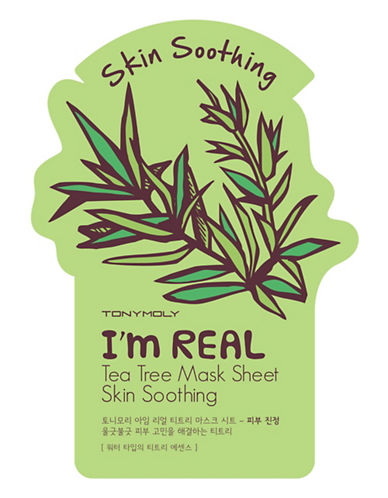 Tony Moly I am Real Tea Tree Skin Calming Mask Sheet-NO COLOUR-One Size