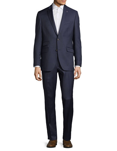 Ted Baker No Ordinary Joe Joey Slim Fit Wool Suit-BLUE-44 Regular