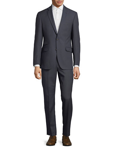 Ted Baker No Ordinary Joe Joey Slim Fit Wool Suit-GREY-38 Short