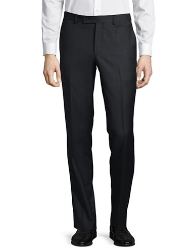 Ted Baker No Ordinary Joe Joey Wool Dress Pants-GREY-38 Regular