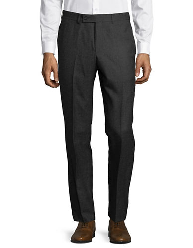 Ted Baker No Ordinary Joe Joey Wool Trousers-GREY-36 Regular