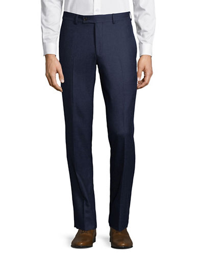 Ted Baker No Ordinary Joe Joey Wool Trousers-BLUE-32 Regular
