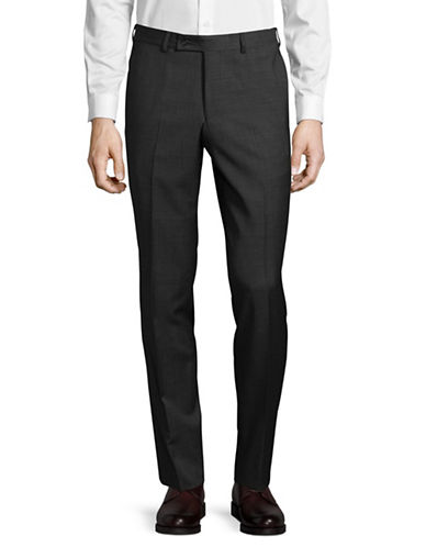 Ted Baker No Ordinary Joe Classic Wool Trousers-GREY-34 Regular